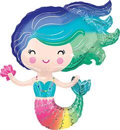 """30"""" Colorful Mermaid"""