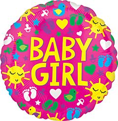 """21"""" Baby Girl Sunshine Fun"""