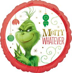 "17"" Grinch Merry Whatever"