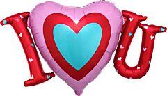 """33"""" Satin I Heart You"""