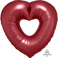 """26"""" Sangria Open Heart"""