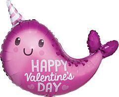 "22"" Valentine Narwhal"