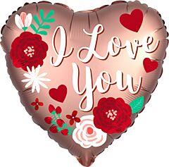 Satin Rose Copper Love