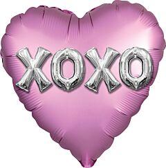 "18"" Satin XOXO Balloon Letters"