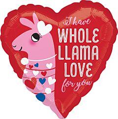 """17"""" Llama Love"""