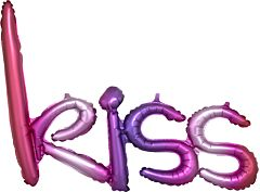 """27"""" Ombre Kiss Phrase - Consumer-inflated"""