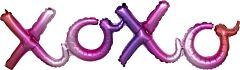 "39"" Ombre Xoxo Phrase - Consumer-inflated"