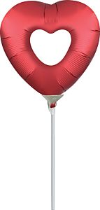 "14"" Sangria Heart"