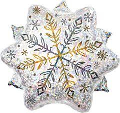 "18"" Shining Snow Holographic"