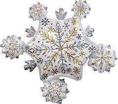 "32"" Shining Snow Cluster"