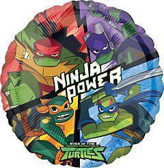 """17"""" Rise of the Teenage Mutant Ninja Turtles"""