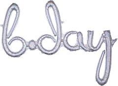 Phrase Script Bday Holographic