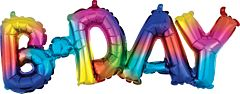 Phrase Block Bday Rainbow