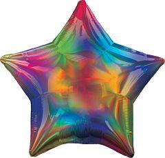 Irid Rainbow Star