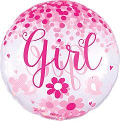 "28"" Confetti Baby Girl"