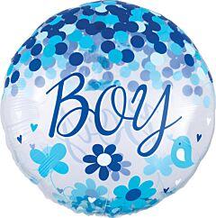 """28"""" Confetti Baby Boy"""