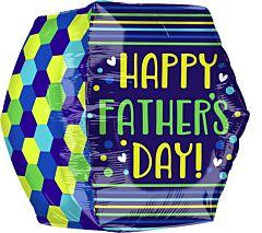 "16"" Fathers Day Geometic Anglez"