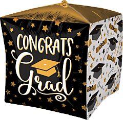 """15"""" Grad Cap Diploma Keys Cubez"""
