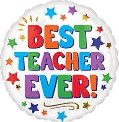"""17"""" Best Teacher Ever"""