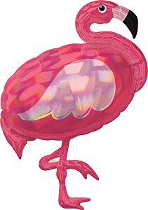 "33"" Iridescent Pink Flamingo"
