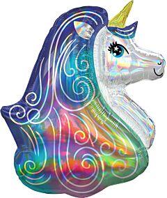 "30"" Iridescent Rainbow Unicorn"