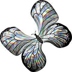 """30"""" Iridescent Butterfly"""