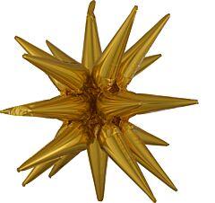 """35"""" Magic Star Gold"""
