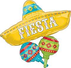 """32"""" Papel Picado Fiesta"""