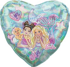 "28"" Mermaid Barbie Holographic"
