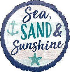 """17"""" Sea Sand Sun"""