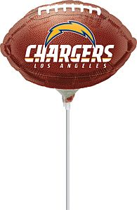 "9"" Los Angeles Chargers"
