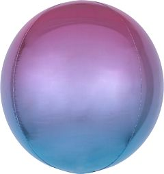 "16"" Ombre Orbz Purple & Blue"