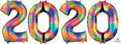 2020 Number Bunch-Rainbow Splash