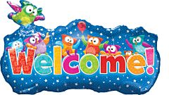 """35"""" Trend Welcome Banner"""