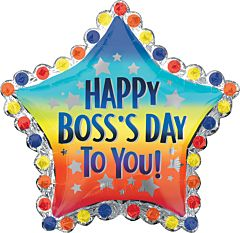 "30"" Happy Boss Day To You"