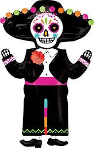 """34"""" Day Of Dead Skeleton"""