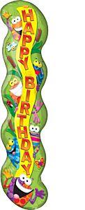 "40"" Trend Frog-tastic Happy Birthday"