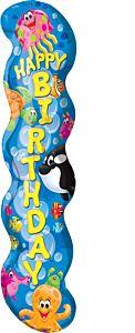 "40"" Trend Sea Buddies Happy Birthday"