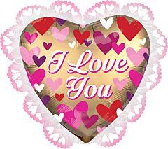 """23"""" Satin Love You Gold"""