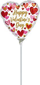 "9"" Playful Valentine Hearts"
