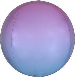 "16"" Ombre Pastel Pink & Blue Orbz"