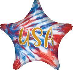 """18"""" Tie Dye USA"""