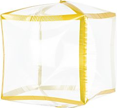 "15"" Gold Trim Cubez"
