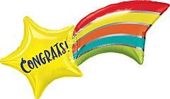 """27"""" Congrats Shooting Star"""