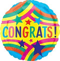 """21"""" Rainbow Congrats"""