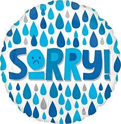 "17"" Sorry Raindrops"