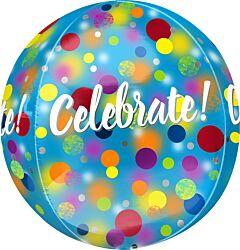 "16"" Celebrate Party Dots Orbz"
