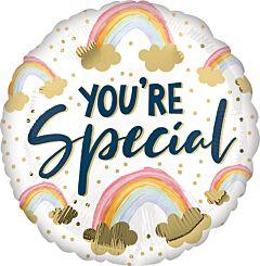 "17"" Youre Special Rainbows"