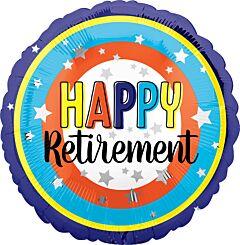 """17"""" Happy Retirement Circles"""