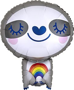 "19"" Sloth With Rainbow"
